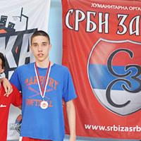 Лука Миленковић победник турнира у Крагујевцу