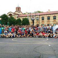 Први турнир у дечијем кампу Грачаница код Чикага